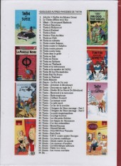 Verso de Tintin - Pastiches, parodies & pirates -19e- Tintin et l'Alph-Art