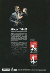 Verso de Human Target (Urban comics) -1- Tome 1