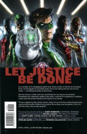 Verso de Justice League: Cry for justice (2009) -INT- Cry for Justice