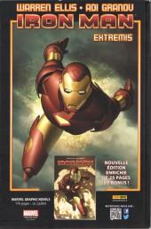 Verso de Iron Man (Marvel France - 2013) -14B- Les gardiens de la galaxie
