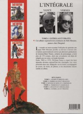 Verso de Bob Morane 8 (Intégrale Dargaud-Lombard) -6- Guérillas et pirates