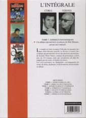 Verso de Bob Morane 8 (Intégrale Dargaud-Lombard) -7- Animaux fantastiques
