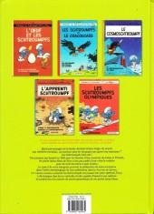 Verso de Les schtroumpfs - L'Intégrale -2- 1967 - 1969