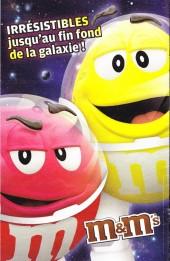 Verso de Les gardiens de la Galaxie (Publicitaire) -Pub1- Extraterrestres... et irrésistibles !