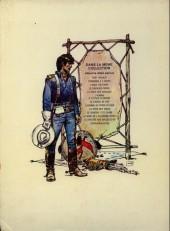 Verso de Blueberry -2d1973- Tonnerre à l'ouest