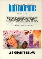 Verso de Bob Morane 3 (Lombard) -20b1981- Les géants de Mu
