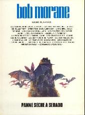 Verso de Bob Morane 3 (Lombard) -21b1985- Panne sèche à Serado