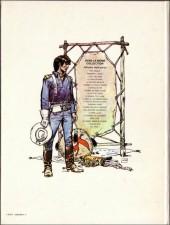 Verso de Blueberry -2d1980- Tonnerre à l'ouest