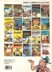 Verso de Sammy -11a1986- deux histoires de gorilles
