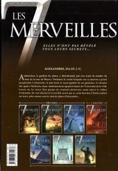 Verso de Les 7 merveilles -3- Le Phare d'Alexandrie - 254 av. J.-C.