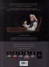 Verso de L'ordre du chaos -5- Talleyrand