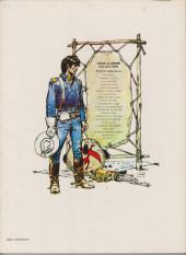 Verso de Blueberry -4c1983- Le cavalier perdu