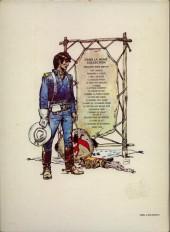 Verso de Blueberry -11b1977a- La mine de l'Allemand perdu