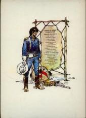 Verso de Blueberry -15a77'- Ballade pour un cercueil