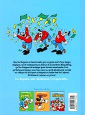 Verso de Les grands Héros Disney -3- Irrécupérables Rapetou