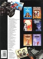 Verso de Spirou et Fantasio -HS01 b2000- L'héritage