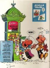Verso de Achille Talon -1a72- Cerveau choc