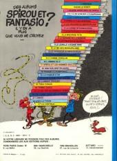 Verso de Spirou et Fantasio -10d81- Les pirates du silence