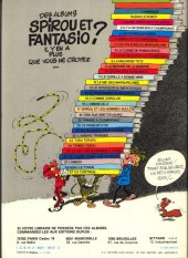 Verso de Spirou et Fantasio -11c82- Le gorille a bonne mine