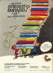 Verso de Spirou et Fantasio -15d82- Z comme Zorglub