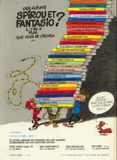Verso de Spirou et Fantasio -16d82- L'ombre du Z