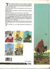 Verso de Les 7 Vies de l'Épervier -3a1989- L'arbre de mai
