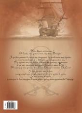 Verso de Le sang du dragon -8- Une promesse est une dette !