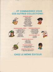 Verso de Bob Morane 3 (Lombard) -7- La vallée des crotales