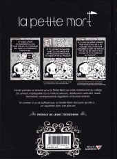 Verso de La petite Mort -2- Le Secret de la licorne-sirène