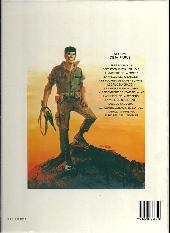 Verso de Bob Morane 2 (Dargaud) -14b1987- La prisonnière de l'ombre jaune