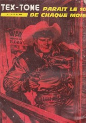 Verso de Tex-Tone -405- Le maître d'école