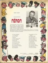 Verso de Néron et Cie (Les Aventures de) (Érasme) -37- Enivrante charlotte