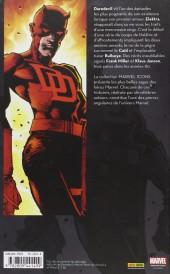 Verso de Daredevil (Marvel Icons) -1- Tome 1