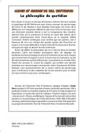 Verso de (AUT) Watterson -2- Calvin et Hobbes, la philosophie du quotidien