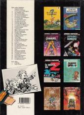 Verso de Spirou et Fantasio -20d1989- Le faiseur d'or