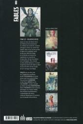 Verso de Fables (avec couverture souple) -22- Blanche Neige