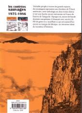 Verso de Les contrées sauvages -1- Vol. 1 :1975-1986