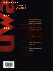 Verso de Universal War Two -2- La terre promise