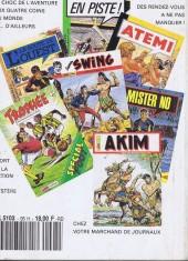 Verso de Capt'ain Swing! (1re série) -Rec095- Album N°95 (du n°11 spécial au n°13 spécial)