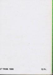 Verso de Tex-Tone -Rec84- Collection reliée N°84 (du n°510 au n°513)