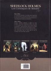 Verso de Sherlock Holmes - Les Chroniques de Moriarty -1- Renaissance