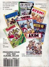 Verso de Capt'ain Swing! (1re série) -Rec087- Album N°87 (n°236, n°244 et n°234)