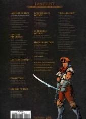 Verso de Lanfeust et les mondes de Troy - La collection (Hachette) -1a- L'Ivoire du Magohamoth