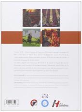 Verso de Carnets 14-18 - Quatre histoires de France et d'Allemagne