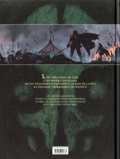 Verso de La chronique des Immortels -54- Le Vampyre - Deuxième Partie