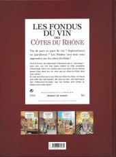 Verso de Les fondus du vin -3- Côtes du Rhône