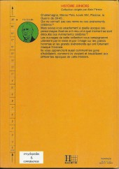 Verso de Histoire Juniors -1- De Gaulle
