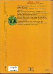 Verso de Histoire Juniors -3- Louis XIV
