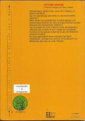 Verso de Histoire Juniors -6- Vercingétorix