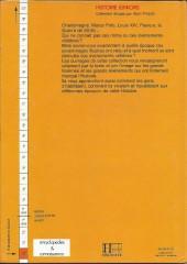 Verso de Histoire Juniors -7- Alexandre le Grand